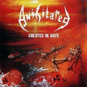Anihilated: Created In Hate - Cover
