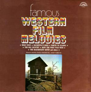Prague Radio Dance Orchestra: Famous Western Film Melodies - Cover