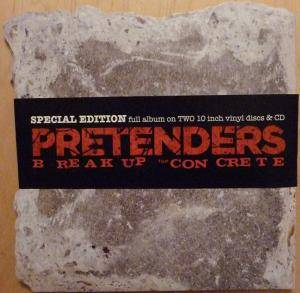 Cover - Pretenders: Break Up The Concrete