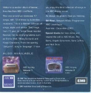 ABC Airplay Volume 3 - Music From ABC Local Radio - CD (2000)