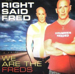 Cover - Right Said Fred: We Are The Freds