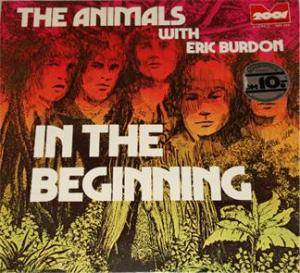 Eric Burdon & The Animals: In The Beginning - Cover