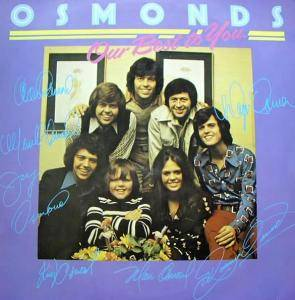 Cover - Osmonds, The: Our Best To You