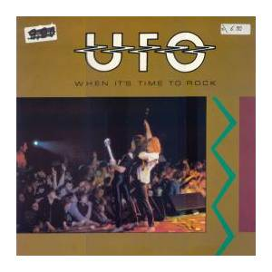 UFO: When It's Time To Rock - Cover