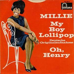 Millie: My Boy Lollipop - Cover