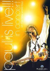 Paul McCartney: Paul Is Live!!! In Concert On The New World Tour - Cover