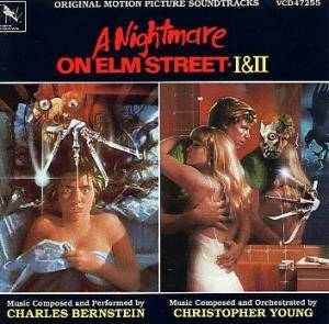 Cover - Christopher Young: Nightmare On Elm Street I & II, A