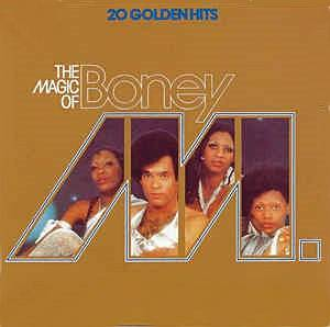 Boney M.: Magic Of Boney M., The - Cover