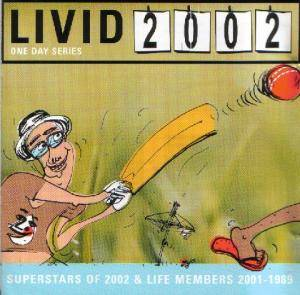 Livid 2002 : Livid Superstars Of 2002 & Life Members 2001-1989 - Cover