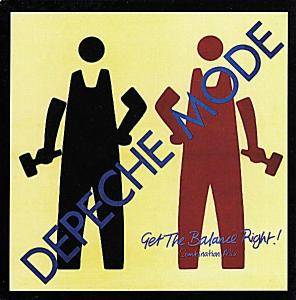 Depeche Mode: Get The Balance Right! - Cover