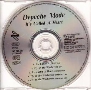 Depeche Mode: It's Called A Heart (Single-CD) - Bild 4