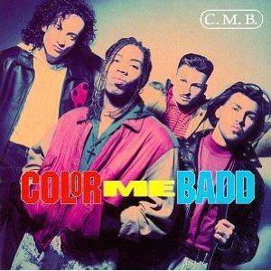 Cover - Color Me Badd: C.M.B.