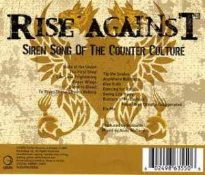Rise Against: Siren Song Of The Counter Culture (CD) - Bild 2