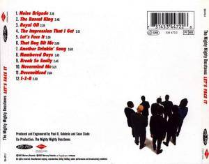 The Mighty Mighty Bosstones: Let's Face It (CD) - Bild 2