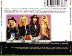 Poison: Poison's Greatest Hits 1986-1996 (CD) - Bild 2