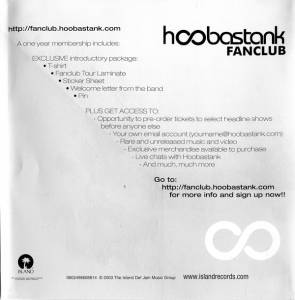 Hoobastank: The Reason (CD) - Bild 5