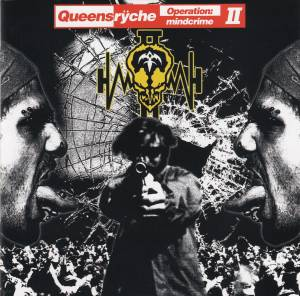 Queensrÿche: Operation: Mindcrime II - Cover