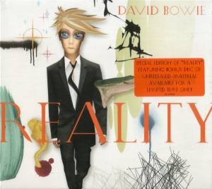 David Bowie: Reality - Cover