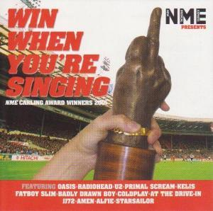 NME Presents Win When You're Singing - Cover