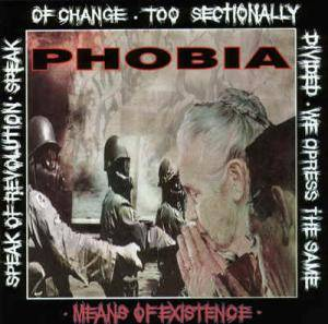 Phobia: Means Of Existence - Cover