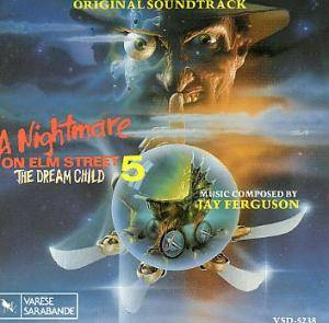 Jay Ferguson: Nightmare On Elm Street 5 - The Dream Child, A - Cover