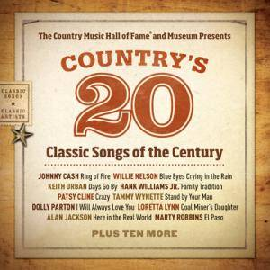 Country's 20 Classic Songs Of The Century - Cover