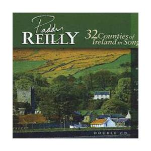 Cover - Paddy Reilly: 32 Counties Of Ireland In Song