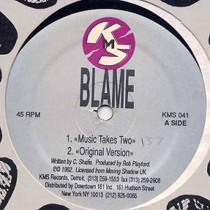 Cover - Blame: Music Takes You