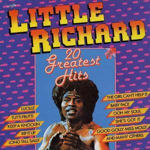 Little Richard: 20 Greatest Hits - Cover