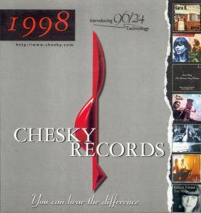 Cover - John Basile Quartet, The: Chesky 1998 Introducing 96/24 Technology