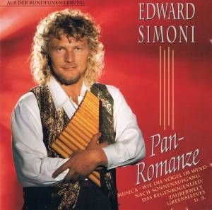 Cover - Edward Simoni: Pan-Romanze