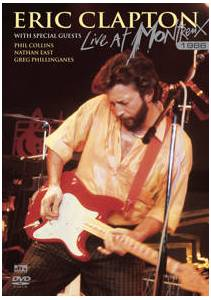 Eric Clapton: Live At Montreux 1986 - Cover