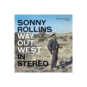 Sonny Rollins: Way Out West - Cover