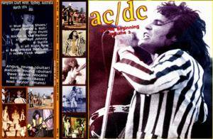 AC/DC: In The Beginning Volume 2 - Cover