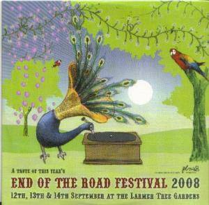 Taste Of This Year's End Of The Road Festival 2008 In Association With Plan B Magazine, A - Cover