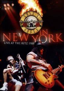 Guns N' Roses: ...In New York - Live At The Ritz 1988 - Cover