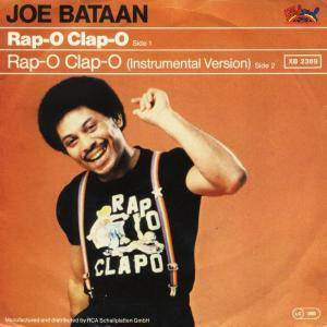 Cover - Joe Bataan: Rap-O Clap-O