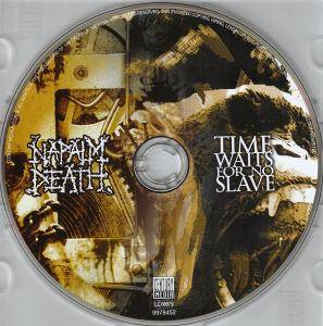 Napalm Death: Time Waits For No Slave (CD) - Bild 3