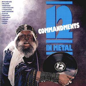 12 Commandments In Metal - Cover