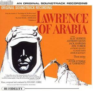 Maurice Jarre: Lawrence Of Arabia - Cover