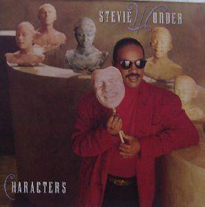 Stevie Wonder: Characters - Cover