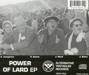Lard: The Power Of Lard (Mini-CD / EP) - Bild 2