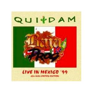 Quidam: Baja Prog - Live In Mexico '99 - Cover