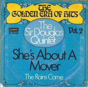 Cover - Sir Douglas Quintet: She's About A Mover
