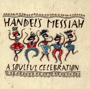 Cover - Michelle Weeks: Handel's Messiah - A Soulful Celebration