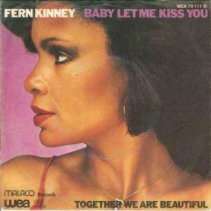 Cover - Fern Kinney: Baby Let Me Kiss You