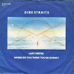 Dire Straits: Lady Writer - Cover