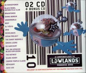 Cover - Tiësto: Campingflight To Lowlands Paradise 2002, A