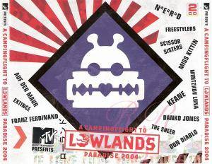 Campingflight To Lowlands Paradise 2004, A - Cover