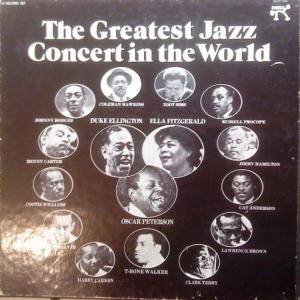Greatest Jazz Concert In The World, The - Cover